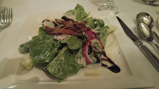 Warm Springs, VA: Caesar salad