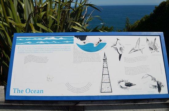 Haast, Новая Зеландия: Info sign2