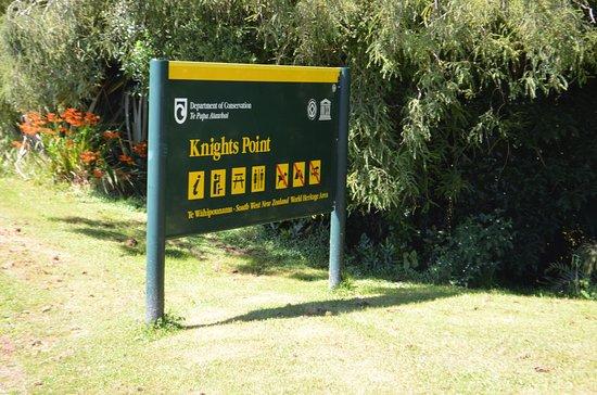 Haast, Новая Зеландия: Entrance Sign