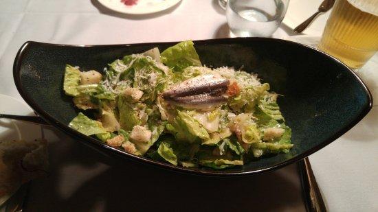 Hot Springs, VA: Caesar salad