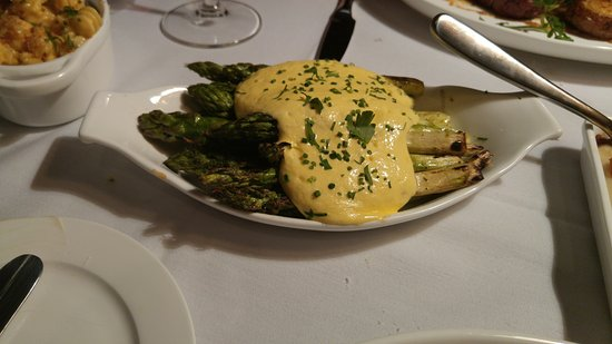 Hot Springs, VA: Asparagus