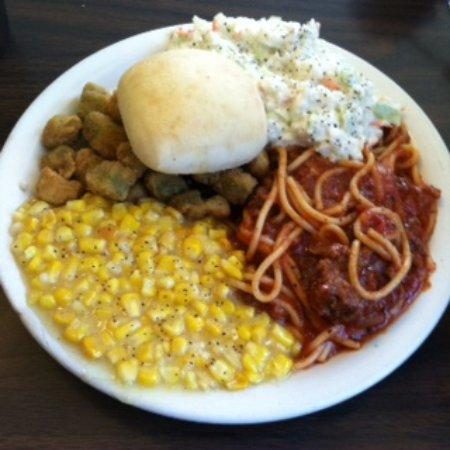 Corinth, MS: Fresh Delicious Lunch - Delightful!!