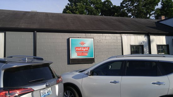 Menu Picture Of Red Light Kitchen Lounge Lexington Tripadvisor