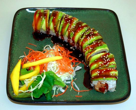 Veggie Roll Picture Of Goleta Sushi House Goleta Tripadvisor