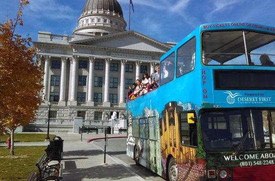 Excursión en autobús con paradas libres por Salt Lake City: Salt Lake City Hop-On Hop-Off Tour