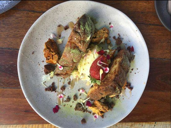 Essendon North, Australia: Matcha French Toast
