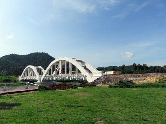 Lamphun Province, Thái Lan: สะพานทาชมภู อ.แม่ทา ลำพูน อยู่ระหว่าง อ.แม่ทา กับ อุโมงค์รถไฟขุนตาล