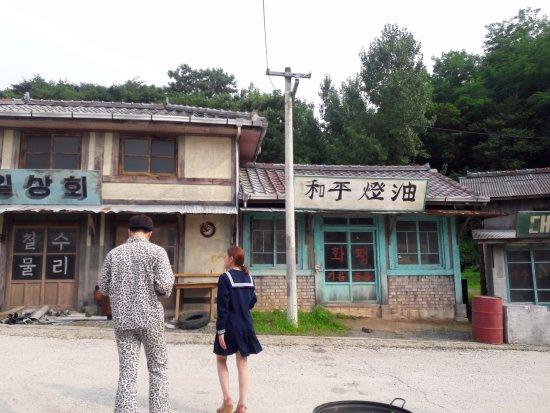 Suncheon, Corée du Sud : Friends on the Open Film Set (July 2016)