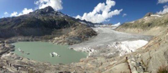 Gletsch, İsviçre: Il trionfo della natura!