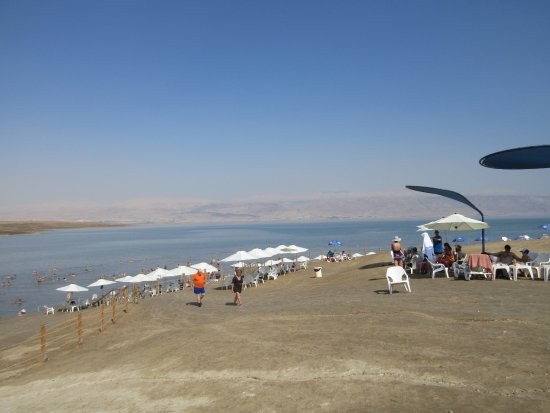 Kalia, Territoires palestiniens : view from the beach