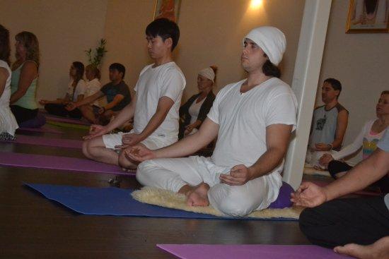 Kundalini Yoga Class At Sanctuary In Las Vegas Picture Of Ryk Yoga And Meditation Center Las Vegas Tripadvisor