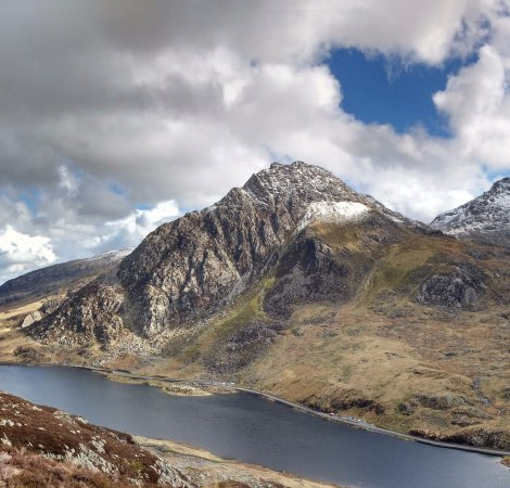 Capel Curig, UK: Tryfan, Snowdonia North Wales