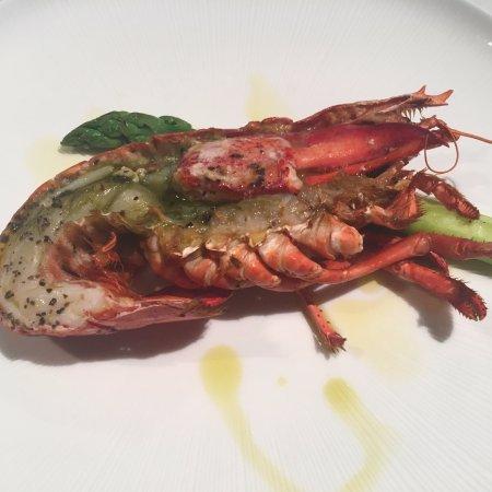 oven grilled lobster