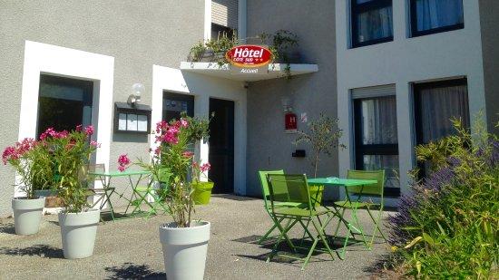 Hotel Cote Sud: Terrasse