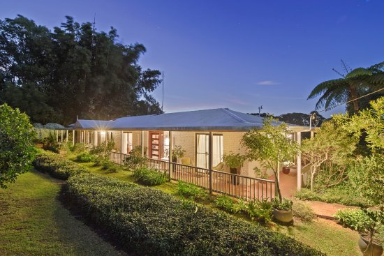 Mapleton, Australie : The front of the lodge