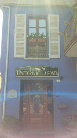 Cossano Belbo, Italy: Trattoria Posta da Camulin