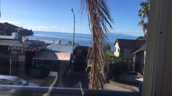 Oneroa, Nueva Zelanda: View from veranda