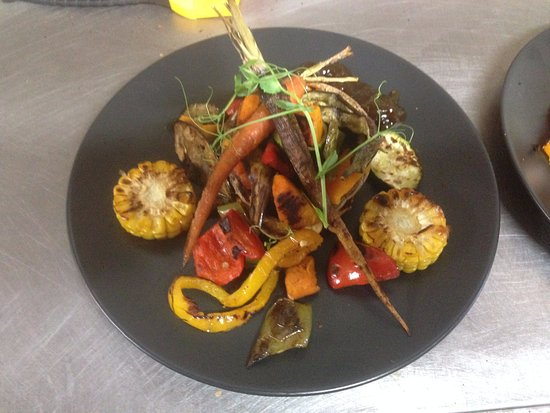 Lancefield, Australia: Vegan Veggie Stack