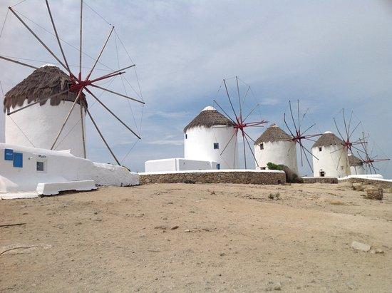 Yiannaki Hotel: Mykonos windmill