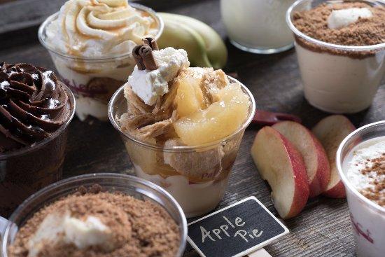 Middletown, Ντέλαγουερ: Apple pie dessert