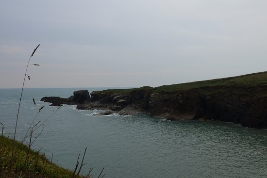 Cliffs by Port Gaverne