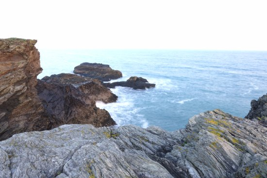 View from cliffs by Port Gaverne