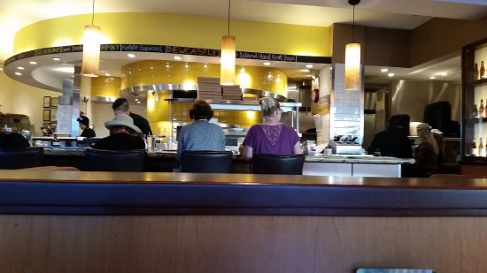 Kitchen Bar Seating Picture Of California Pizza Kitchen Boston Tripadvisor