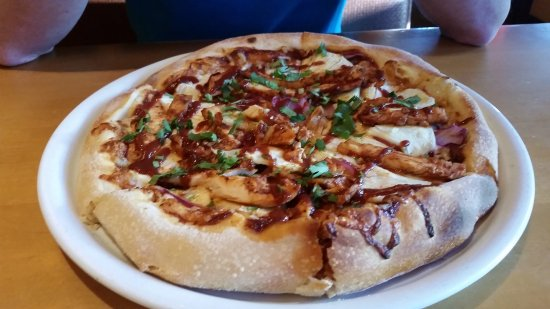 Bbq Chicken Pizza Picture Of California Pizza Kitchen Boston Tripadvisor