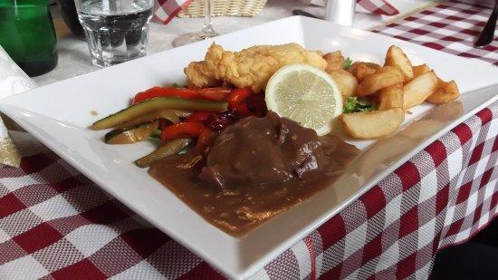 Hrusevje, Σλοβενία: maiale in salsa carso