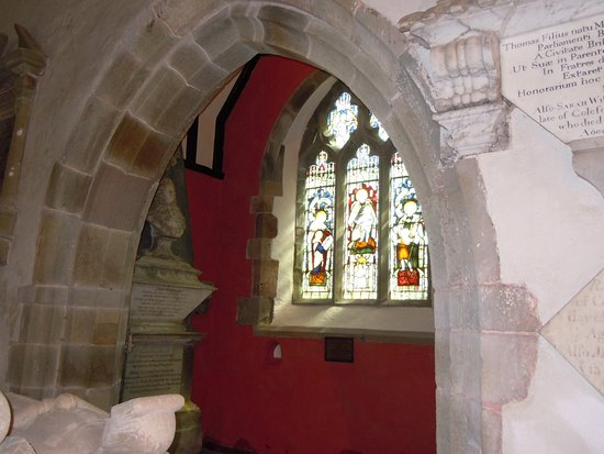 Forest of Dean, UK: King Edward's Chapel, All Saints Church, Newland
