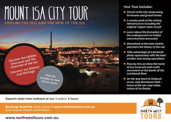 Mount Isa City Tour