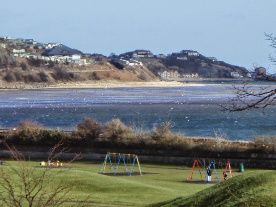 Burntisland, UK: View from guest house