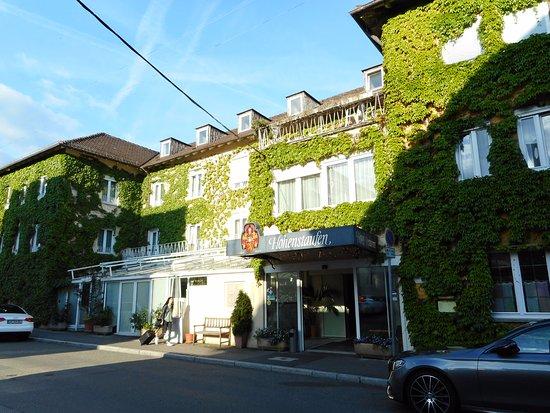 Göppingen, Deutschland: Exterior of the hotel.