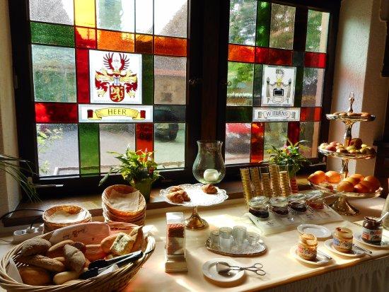 Göppingen, Deutschland: Breakfast dining area.