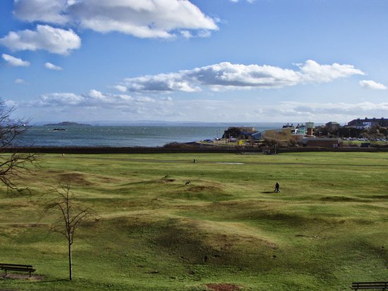 Burntisland, UK: View from guest house#2