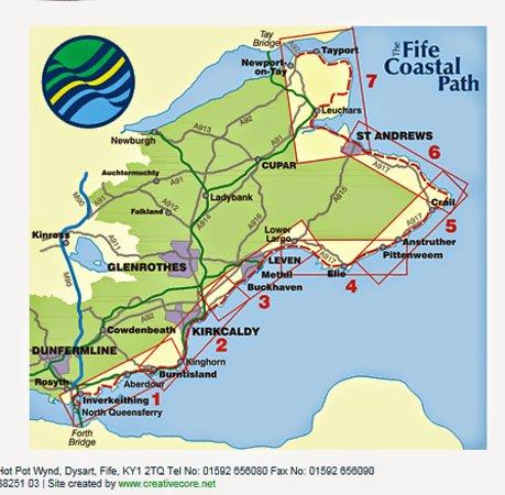 Burntisland, UK: Fife Coastal Path