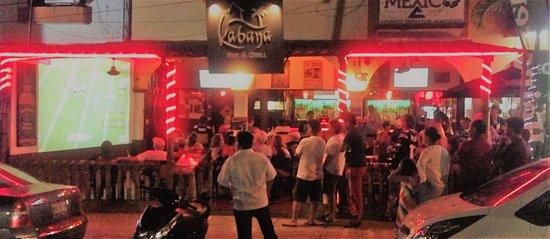 Kabana Bar & Grill: La Crucecita, Huatulco.