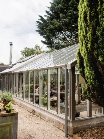 Constantine, UK: Glass house cafe