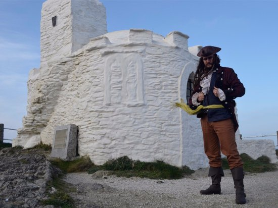 Pirate's Quest: Learn all about Cornwall's history with Captain Calico Jack.