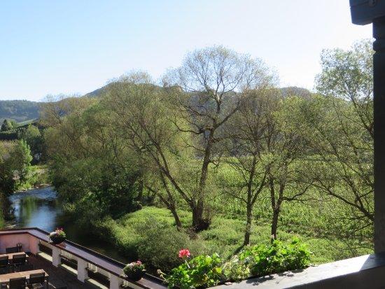 Mayschoss, Germany: zicht vanop het balkon