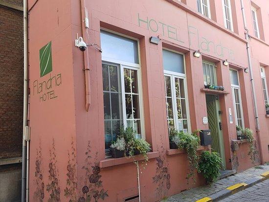 Flandria Hotel : La Struttura dall'esterno