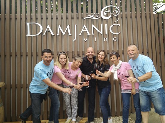 "Visnjan, Croatia: ..on ""Wine & more"" tour at Damjanic winery"