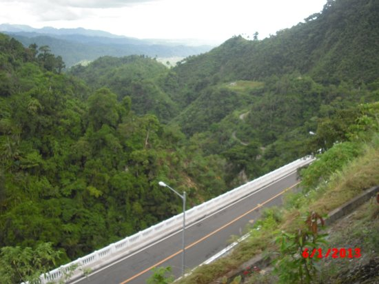 Sogod, Philippines: airview of agas-agas bridge