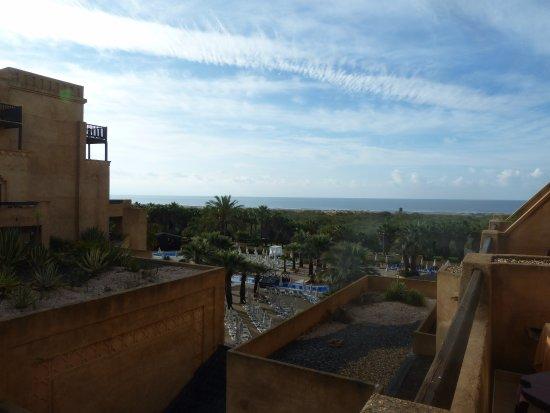 IBEROSTAR Isla Canela Hotel: View towards the sea