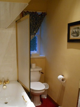 Stanley, UK: The bathroom in the room called the cabin....