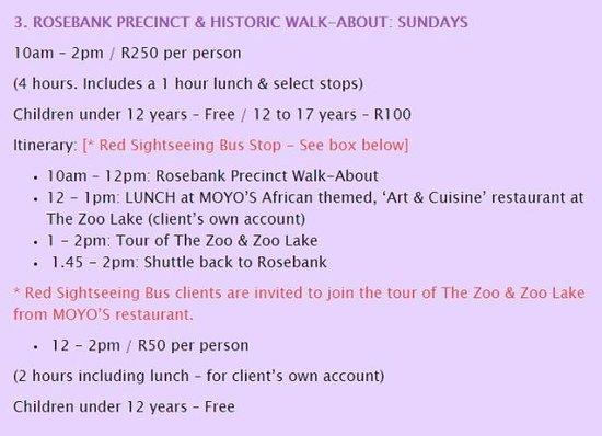 Rosebank Walking Tours - Joburg on Foot