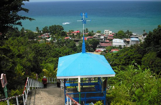 Maasin, Filipiny: overlooking the City proper