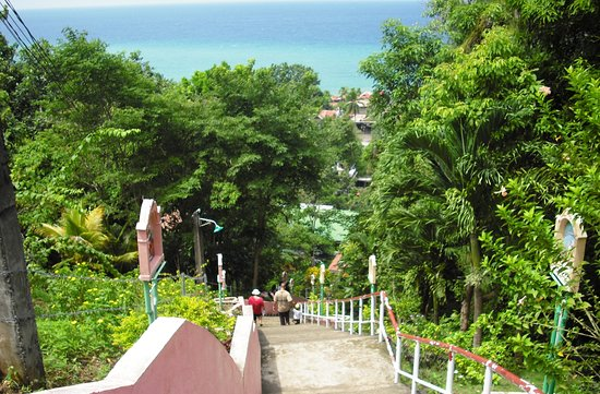 Maasin, Filippine: going down