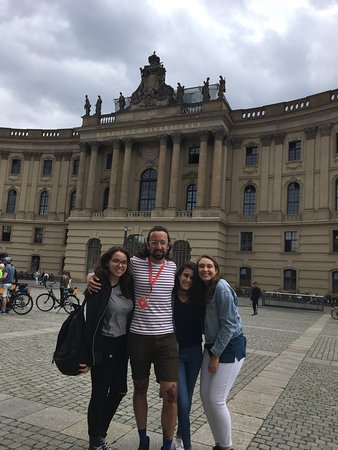 SANDEMANs NEW Europe - Berlin: Our first introduction to Berlin was incredible thanks to our brilliant guide Sam.He was funny a