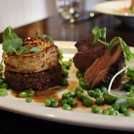 Easingwold, UK: Roasted Spring Lamb Rump & Mini Shepherd's Pie